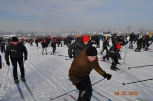 Жителей Красноуфимского района объединила лыжня