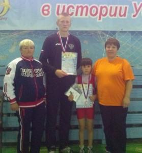 Всероссийский турнир по вольной борьбе в Сарапуле