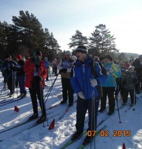 Лыжня России 2015